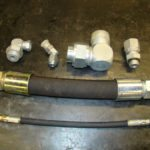 Collection of hose fittings product imagery