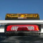 whelen truck lights closeup