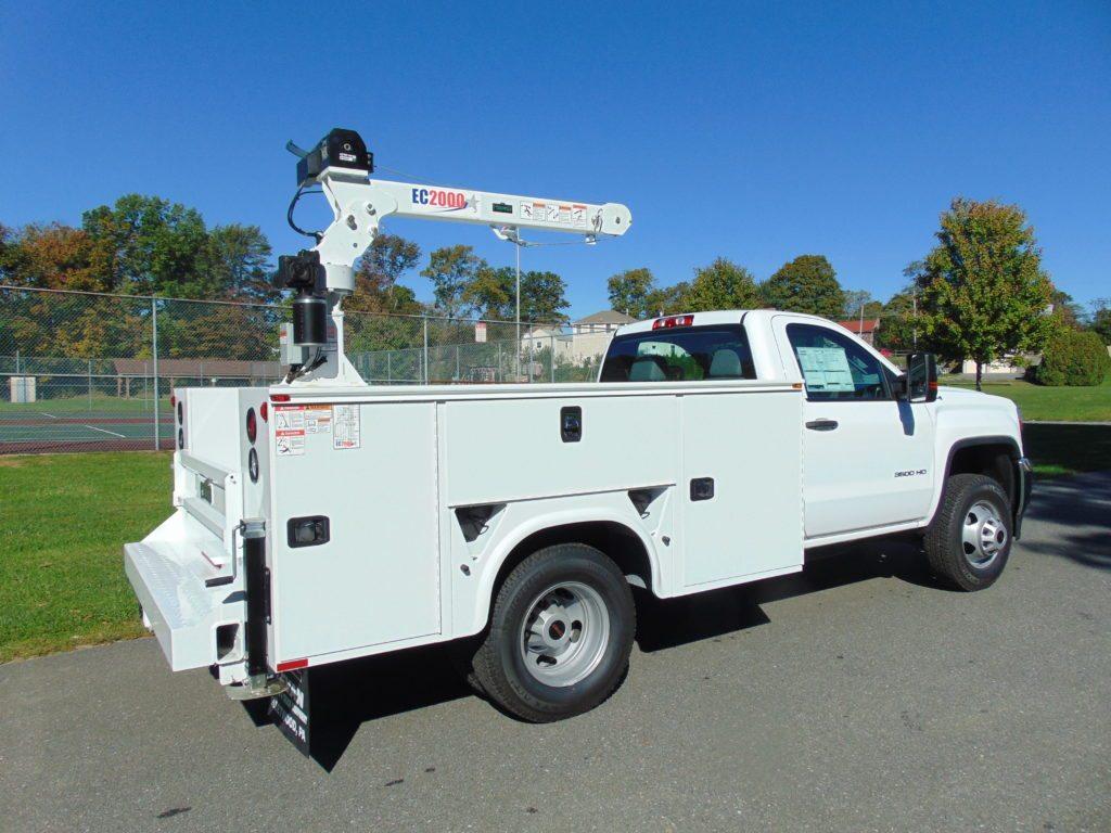 Stellar Crane white truck